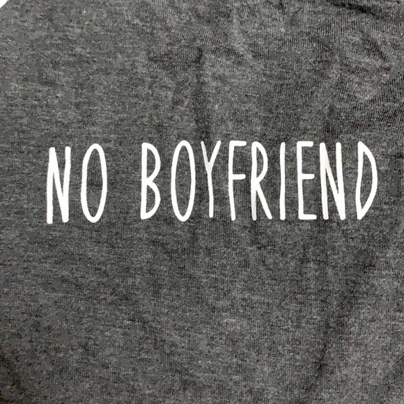 🤩 No boyfriend No problem tank top